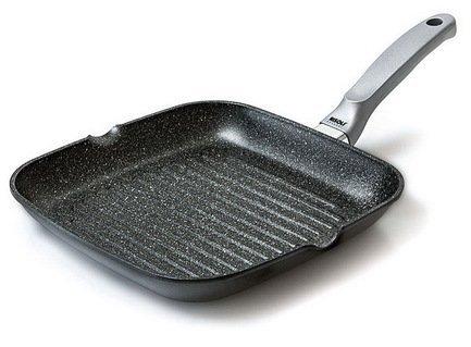 Risoli Литая сковорода-гриль Granit Induction, 26 см risoli литая сковорода гриль granit induction 26 см