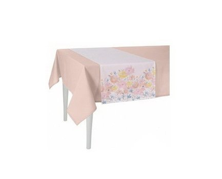 """Apolena Дорожка на стол """"Enjoy"""", 40х140 см, полухлопок, кремовая 515-8249/1"""
