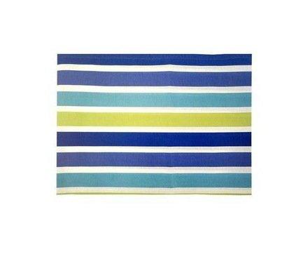 "Apolena Дорожка на стол ""Sabrina Royal"", 40х140 см, хлопок, синяя P798-1824/1"
