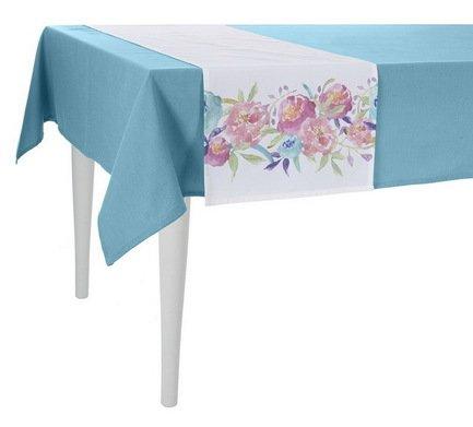 "Apolena Дорожка на стол ""Viva"", 40х140 см, полухлопок, малиновая P515-8357/2"