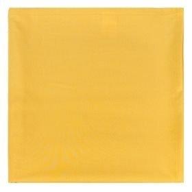 """Однотонная скатерть """"Лючия"""", 170х220 см, хлопок, желтая"""