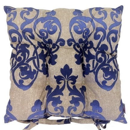 Подушка на стул Illumination, 41х41см, хлопок, синяя P705-8759/1 Apolena подушки на стул apolena подушка на стул волшебная флейта 40х40