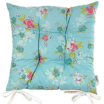 Apolena Подушка на стул с рисунком Голубая мечта, 41х41 см,полухлопок P505-8674/1 Apolena apolena скатерть с рисунком fondness 140х140 см полухлопок розовая p534 8363 2 apolena