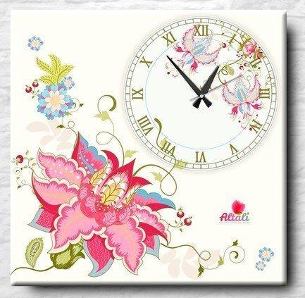 """Apolena Настенные часы """"Ekzotic"""", 40x40 см P712-5666/2"""