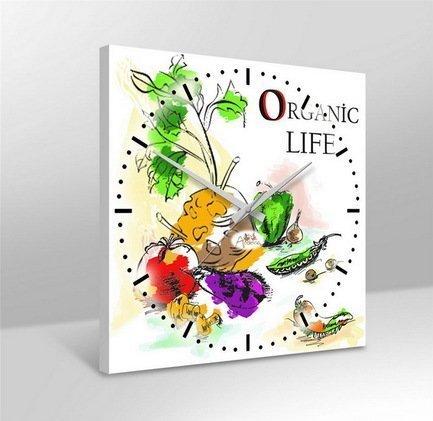 Apolena Настенные часы Органическая жизнь, 38х38 см apolena