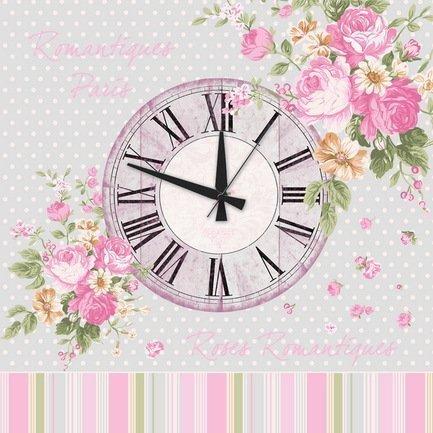 """Apolena Настенные часы """"Мария Антуанетта"""", 40х40 см P12-8898/1"""