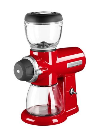 KitchenAid Жерновая кофемолка Artisan, красная 5KCG0702EER KitchenAid цена и фото