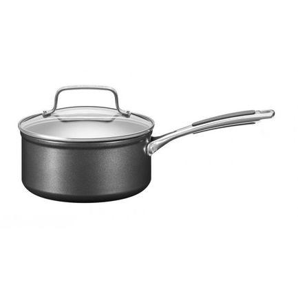 KitchenAid Сотейник с крышкой анодизированный, 16 см KC2H120PLKD KitchenAid kitchenaid кастрюля для соуса 1 42 л 16 см 3 х слойная kc2t15ehst kitchenaid