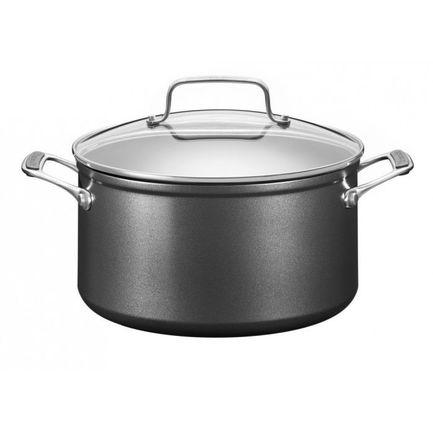 KitchenAid Кастрюля низкая с крышкой (5.5 л), 24 см kitchenaid набор прямоугольных чаш для запекания 0 45 л 2 шт красные