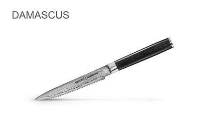 Samura Нож для томатов Damascus, 12 см, дамаск 67 слоев SD-0071/16