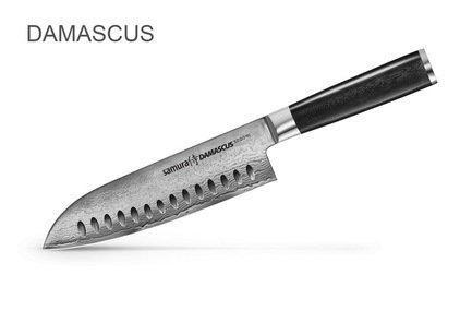 Samura Нож Сантоку Damascus, 18 см