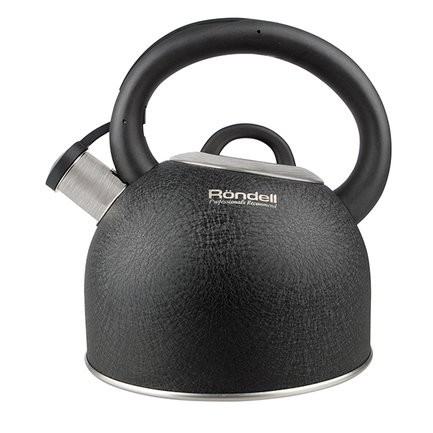 Rondell Чайник Infinity (2.7 л), 14.5 см, черный RDS-424 Rondell чайник gipfel для кипячения воды cypress 4 5 л нерж сталь