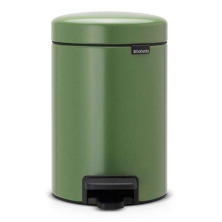 Brabantia Мусорный бак с педалью newIcon (3л), 26.4х17х23.5см, зеленый мох brabantia мусорный бак с педалью newicon 3 л 26 4х17х23 5 см мятный металлик