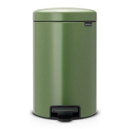 Brabantia Мусорный бак с педалью newIcon (12 л), 40х24х32.5 см, зеленый мох 113529