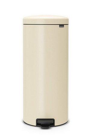 Brabantia Мусорный бак с педалью newIcon (30 л), 67.5х30х34 см, миндальный 114281 Brabantia brabantia мусорный бак flipbin 30 л белый