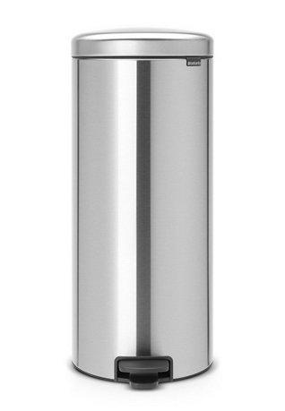 Мусорный бак с педалью newIcon (30л), 67.5х30х34см, стальной 114380 Brabantia