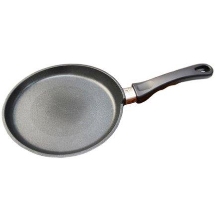 AMT Gastroguss Сковорода для блинов, 24х1 см, с фиксированной ручкой AMT124FIX AMT Gastroguss