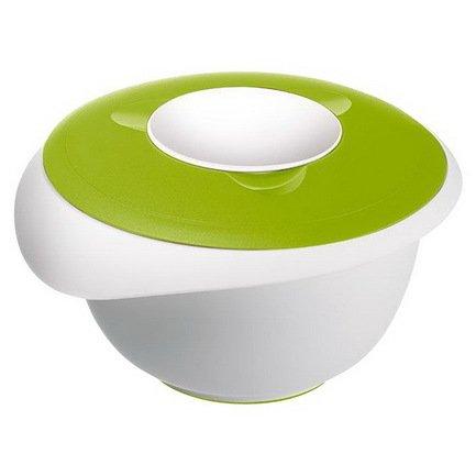 Westmark Миска длясмешивания с 2-мя крышками (2.5л), 24.5х22.5см, зеленая 3153227A Westmark скамья 2 визан зеленая