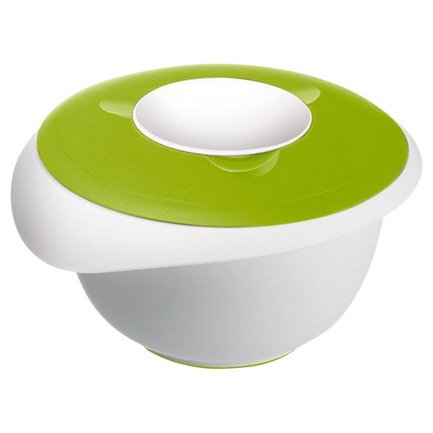 Westmark Миска для смешивания с 2-мя крышками (3 л), 28х27 см, зеленая 3155227A Westmark миска для животных зооник 0 25 л зеленая