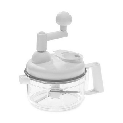 Westmark Кухонный комбайн, 19х17 см, белый, 9 насадок 11402260 Westmark кухонный комбайн moulinex fp542132 белый