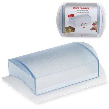 Westmark Маслёнка пластиковая, белая 21162270 Westmark маслёнка loraine олива 17 13 см белый