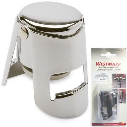Westmark Крышка для шампанского, хром, 6 см westmark нож для теста фигурный 17 6х3 см