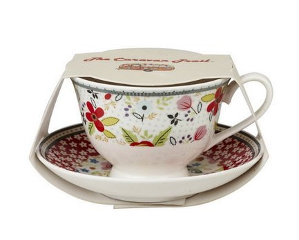 Churchill Чайная пара Пляжный отдых (0.2 л) CARV10831 Churchill чайная пара pavone бабочка 0 2 л с ложечкой