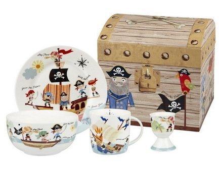 Churchill Набор столовой посуды Пираты на 1 персону, 4 пр. PIRA00011 Churchill churchill набор подставок под чайные пакетики 4 пр 10х10 см hidw01571 churchill