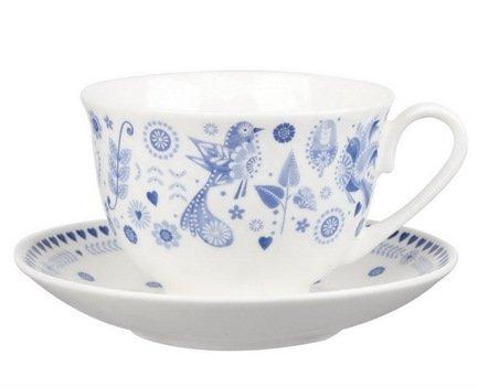 Churchill Чайная пара Пензанс (200 мл) PENZ00121 Churchill чайная пара борисовская керамика ностальгия цвет темно фиолетовый голубой 200 мл