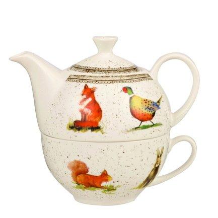 """Churchill Чайный набор """"Живая природа"""", на 1 персону, 2 пр. ACWL00141"""