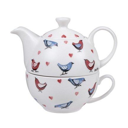 Churchill Чайный набор Птички, на 1 персону, 2 пр. ACLB00121 Churchill nora roberts devino makeido meilė