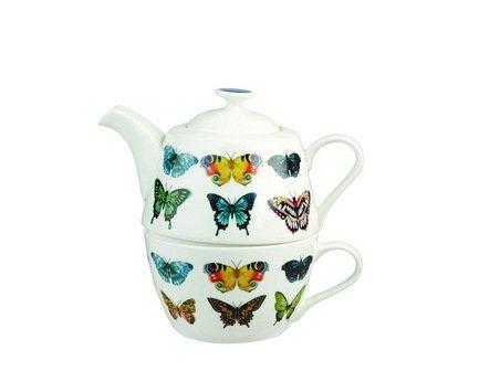Churchill Чайный набор Бабочки, на 1 персону, 2 пр. HARL00311 Churchill jk 103 чайный набор на 2 перс венецианская классика venice classic pavone