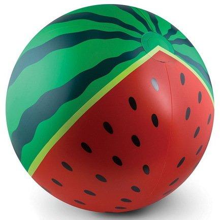 BigMouth Мяч надувной Watermelon, 46 см