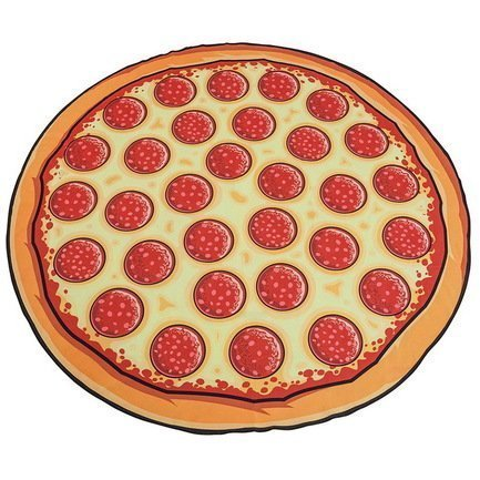 BigMouth Покрывало пляжное Pizza BMBTPI BigMouth