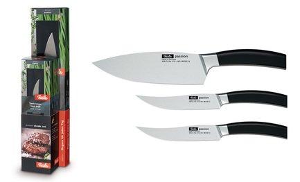 Fissler Набор ножей для стейка Азарт, 3 пр. 8803103 Fissler fissler набор ножей для завтрака