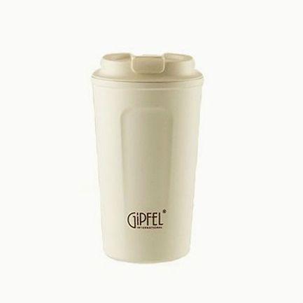 Bisetti Мельница для перца и соли Dual Big 2-в-1, 19 см, акриловая