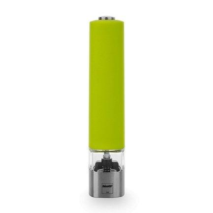 Bisetti Мельница для соли Electric 20 см электрическая зеленая 961S Bisetti
