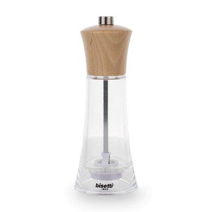 Bisetti Мельница для соли Verona, 17.5 см, акриловая 87510 Bisetti зонты bisetti зонт