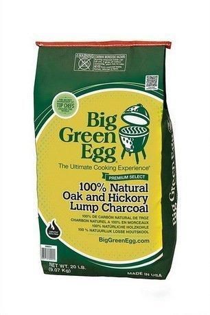 Big Green Egg Уголь древесный органический крупнокусковой, пакет 9 кг CP Big Green Egg уголь берёзовый сamping рalisad 3 кг