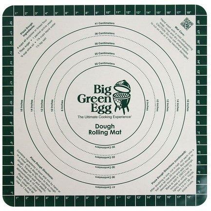 Big Green Egg Коврик с разметкой для раскатки теста для пиццы, силиконовый SDRM Big Green Egg