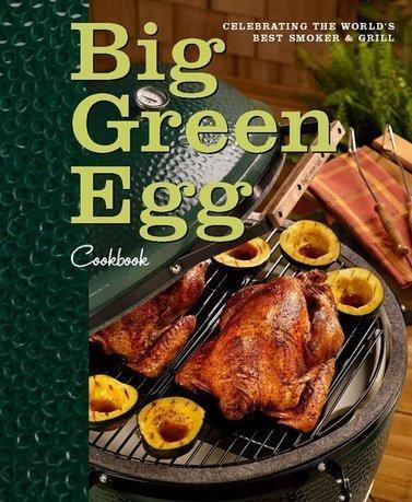 Книга рецептов BGE, англ.язык, 208 стр. BGE-BOOK-EN Big Green Egg