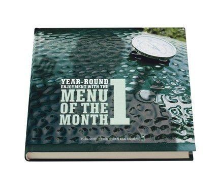 """Книга """"Меню месяца"""" часть I, англ.язык MENU1EN Big Green Egg"""
