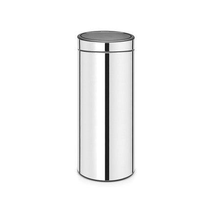 Brabantia Мусорный бак Touch Bin New (30л), 31х72см, стальной 115325 Brabantia brabantia мусорный бак touch bin 30 л