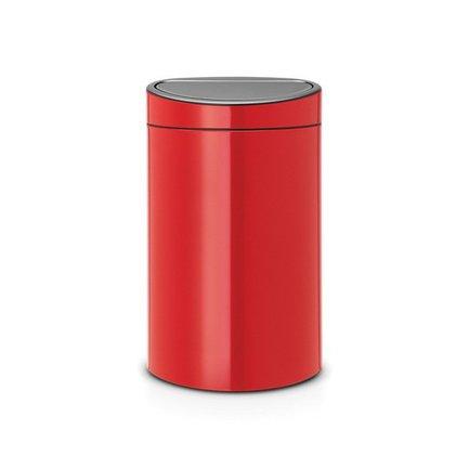 Brabantia Мусорный бак Touch Bin New (40л) 72.7х43.5х30см, пламенно-красный 114960 Brabantia brabantia мусорный бак touch bin 30 л