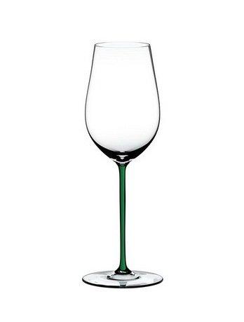 Riedel Бокал для вина Riesling/Zinfandel (395 мл), с зеленой ножкой