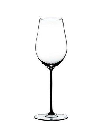 Riedel Бокал для вина Riesling/Zinfandel (395 мл), с черной ножкой