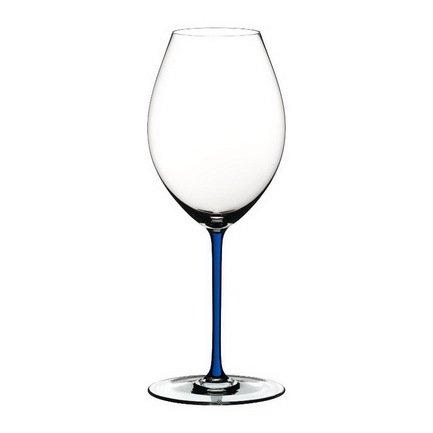 Бокал для красного вина Old World Syrah (650 мл), с синей ножкой 4900/41D Riedel бокал cabernet merlot 625 мл с черной ножкой 4900 0b riedel