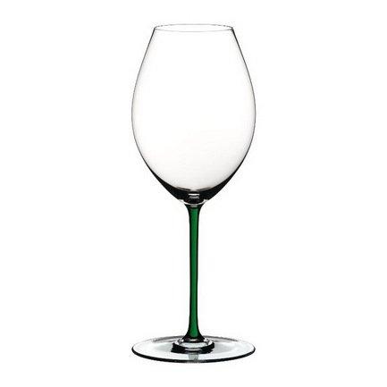 Бокал для красного вина Old World Syrah (650мл), с зеленой ножкой