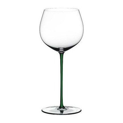 Бокал для белого вина Oaked Chardonnay (620 мл), с зеленой ножкой