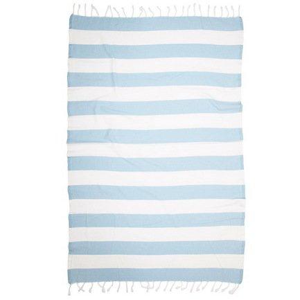 Полотенце пляжное Mediterranean Pestemal, 95х165 см, синее